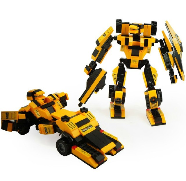 Brand New Transforming Robot Building Bricks ABS Block for Kids Play Set of 284 pieces