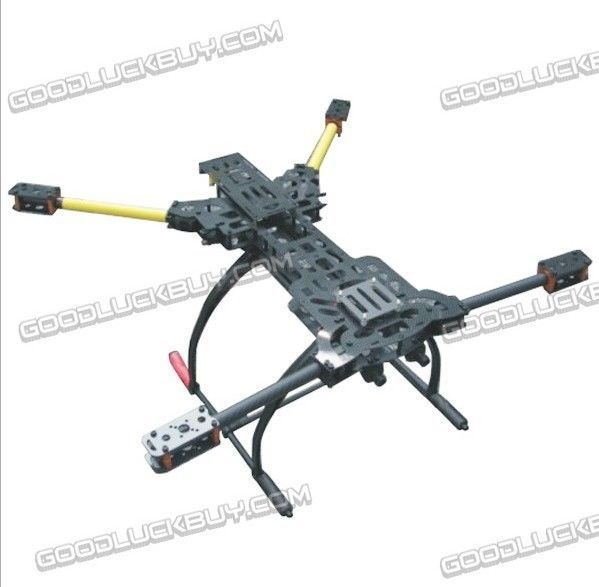 ATG H4 650 Alien Folding Aircraft Quadcopter Frame w/Plastic Landing Gear Combo ...