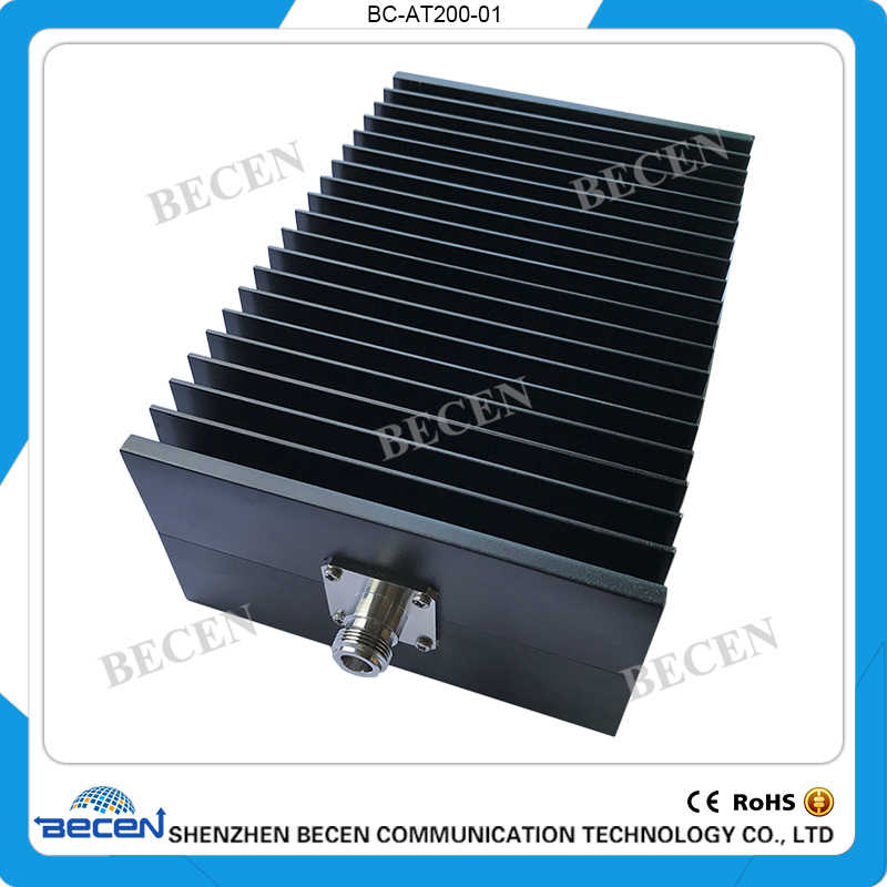 10db BECEN 100W DIN Male to Female Connector RF attenuator,1-50db,DC to 3GHz,50 Ohm