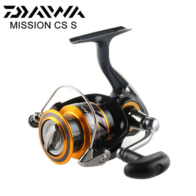 2017 fishing reel MISSION CS 2000/2500/3000/4000 with Light body and top quality with 4 Stainless steel bearings