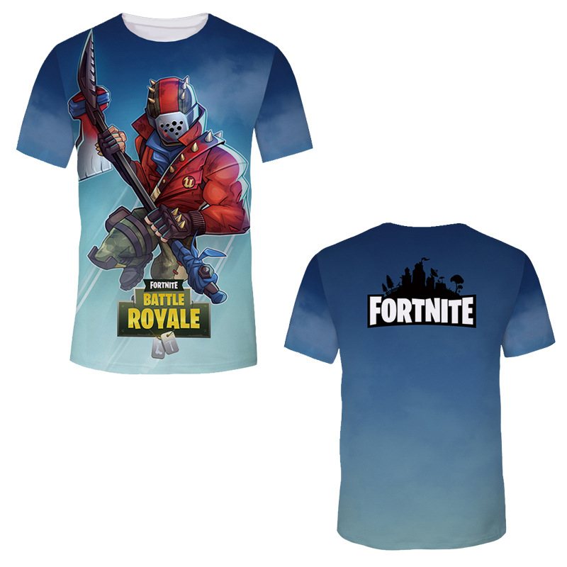 1b03c344f Fashion Fortnite T Shirts Men Game Cool Printing stranger things clothing  Breathable 3d Print tee Shirts Short Sleeve-in T-Shirts from Men's Clothing  ...