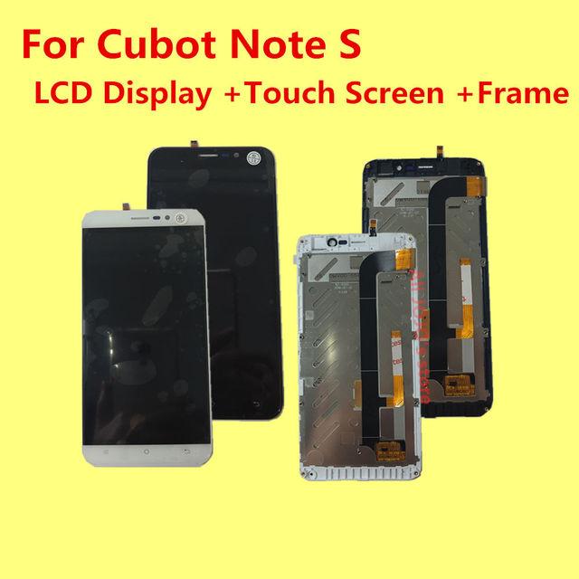 """PARA CUBOT NOTA S Display LCD + Touch Screen + Quadro + Ferramentas Acessórios 100% Original Substituição Digitador Assembléia Para telefone 5.5"""""""