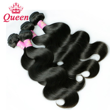 Hot Peruvian Virgin Hair Body Wave 4 Bundles Hair Queen Weave Beauty Ltd TOP 7A unprocessed Remy Hair 100g bundle 4 Pieces/Lot
