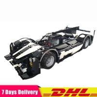 DHL Lepin 2207Pcs Moc 5530 Hybrid Super Racing Car Technology Model Building Kits Blocks Bricks Toys Clone Legoinglys 23018