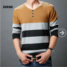 ZOEQO HOT fashion cotton pullover for men Casual jumper knitted sweater NO 0415