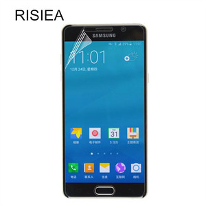 RISIEA 3pcs Clear Glossy Screen Protector LCD Protective film for Samsung Galaxy A5 2017 A3 A5 A7 A8 2015 2016 2017 2018(China)