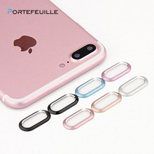 PORTEFEUILLESUBSIDIES Smart Telefoon Camera Metalen Lens Film Protector Case cover shell Camera Guard Ring Bumper Voor Iphone X Bescherming Ring(China)
