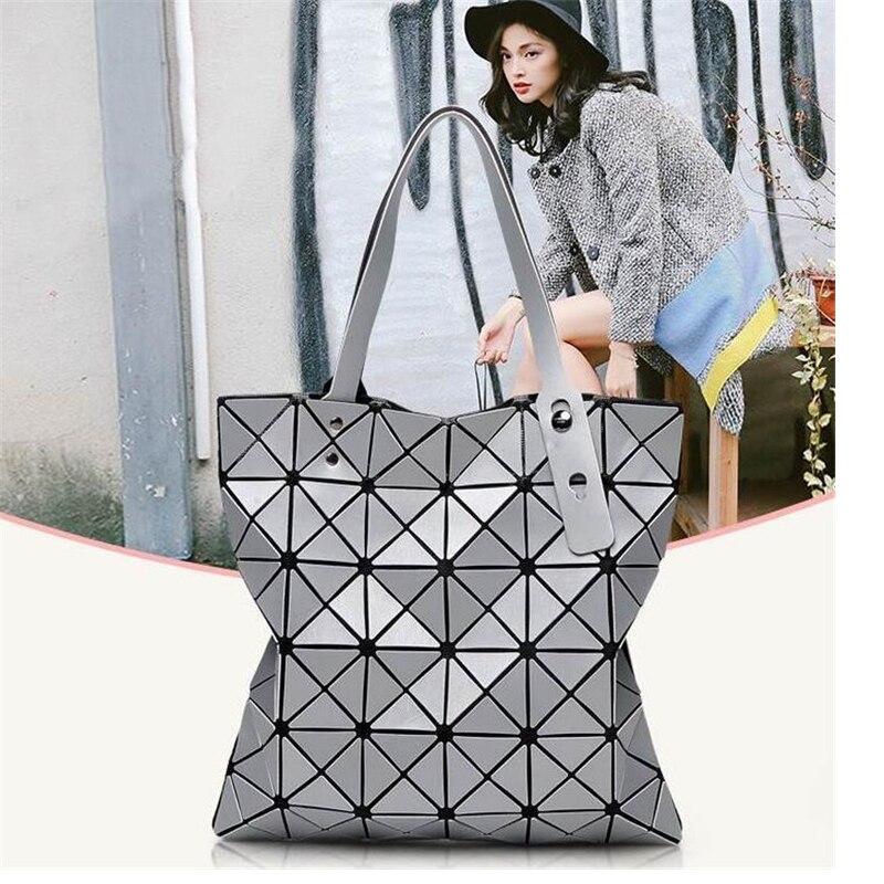 2018 Venta caliente Bao bolsos para las mujeres bolso de lujo mujeres bolsos diseñador señoras geometría hombro playa bolsa feminina