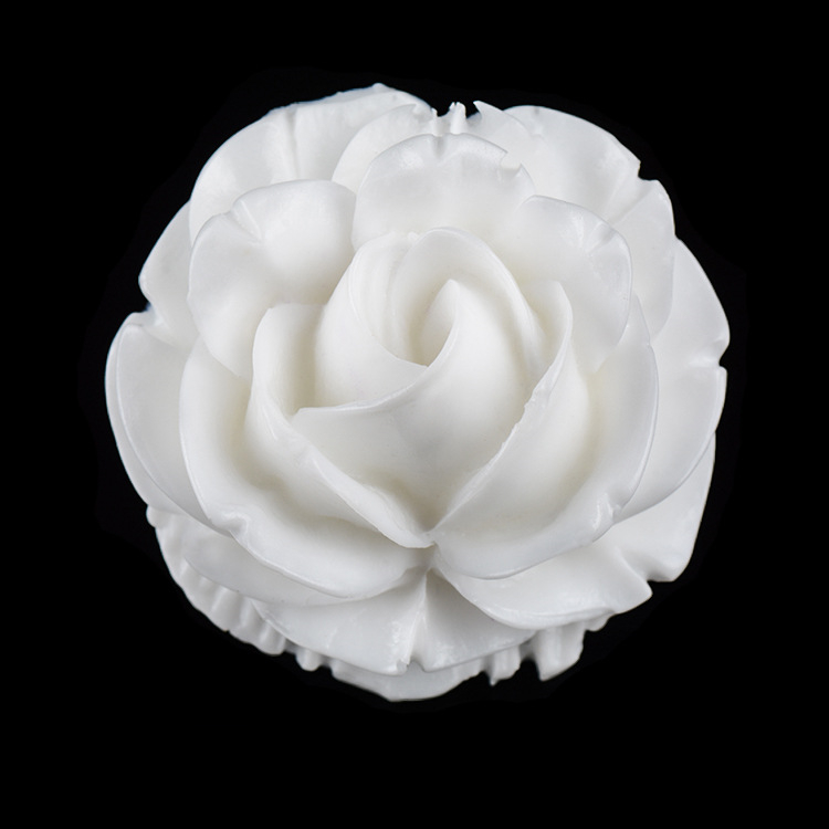 Big Rose Flower Shaped Silicone Press Mold Cake Decoration Fondant Cake 3D Food Grade Silicone Mould D002