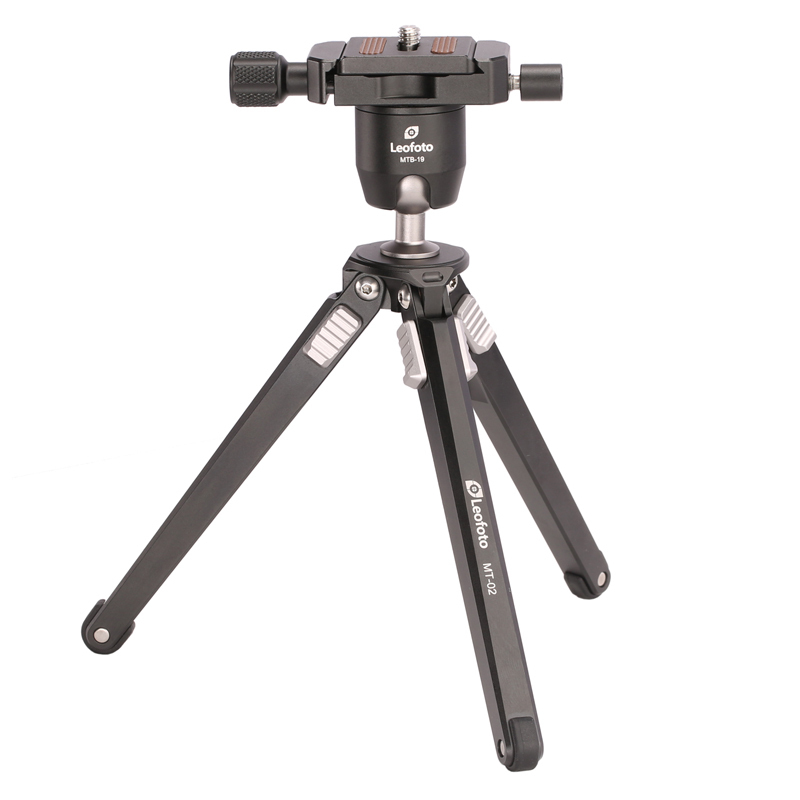 SETTO Leofoto Compact Aluminum Camera Travel Tripod Stand with Ball Head for Travelers,Table Tripod for Nikon Canon Sony DSLR setto leofoto mp 150 camera accessories tripod head photography macro fotografie macro focusing rail