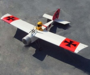 63in Baron 15CC RC Model Gasoline/Petrol Airplane ARF -White Color image
