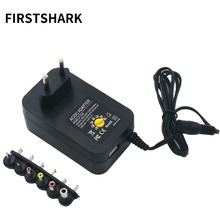 100-240V TO 3V,4.5V,5V,6V,7.5V,9V,12V 30W Universal Adjustable AC/DC Charger Adapter Switching Power Supply +5V USB Port