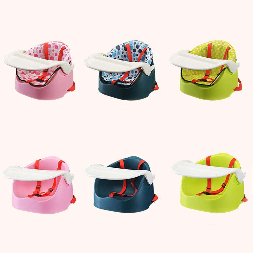 Portable Multifunctional Baby Child Dining Chair for Eating And Learning to Sit With Chair Cover Baby eating seat dining chair бумажник eating grass f5036