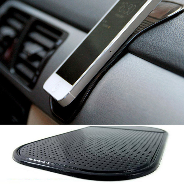 1PC Car Dashboard Sticky Pad Car Gadget Silicone Mat  Magic Sticky Holder For Your Phone In Auto Car Accessories Anti-Slip Mat