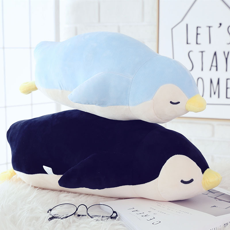 NEW Plush toy 35cm Soft plush pillow stuffed cute Penguin doll Unisex gift wedding present Kids toys Free shipping 1pcs 35cm 5 colors cute stuffed plush toy toot sheep soft doll with scarf toys gift for girl free shipping