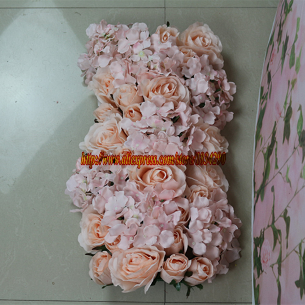 Hot Pink 10pcslot Wedding Decorative Artificial Silk Rose Hydrangea