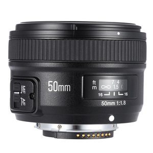 Image 3 - YONGNUO YN50mm F1.8 فتحة كبيرة السيارات عدسات تركيز DSLR كاميرا عدسات لكاميرات كانون لنيكون D800 D300 D700 D3200 D3300 D5100