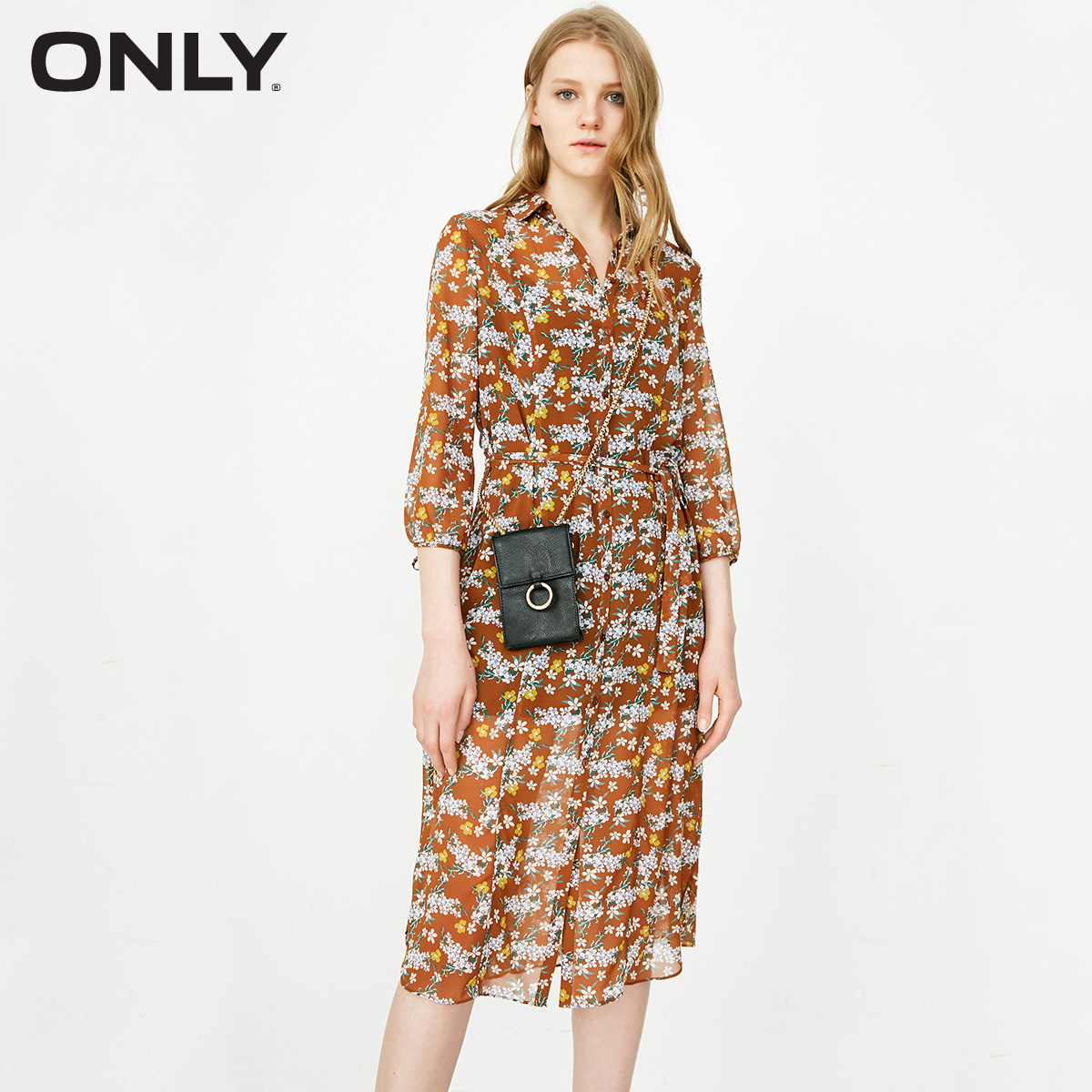 The New Spring And Summer ONLY Chiffon Two-piece Dress Female | 118105543