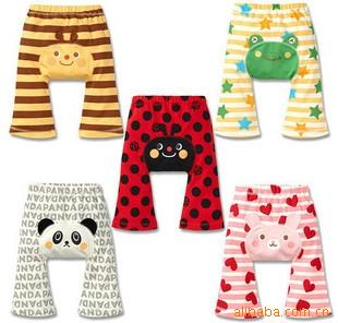 Baby Boys Girls Animal pattern PP pants Lovely cartoon Panda Frog Busha Pants Kids Long Pants Summer Baby Clothing Kids Legging
