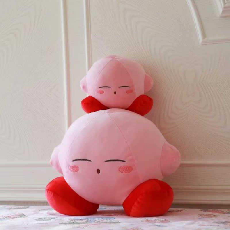 Yeni Oyun Kirby Macera Kirby peluş oyuncak Yumuşak Bebek Büyük Doldurulmuş Hayvanlar Oyuncaklar Çocuklar Için doğum günü hediyesi Ev Dekor