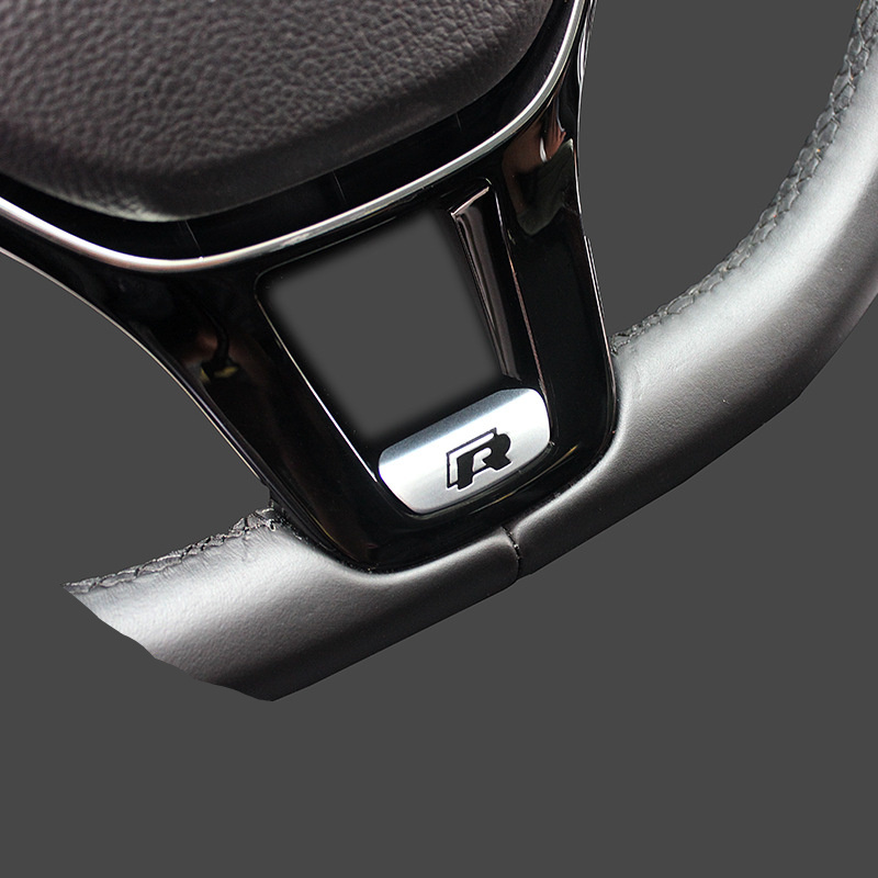 car styling car sticker badge r rline r line emblem for vw volkswagen 2017 jetta touran golf 7. Black Bedroom Furniture Sets. Home Design Ideas