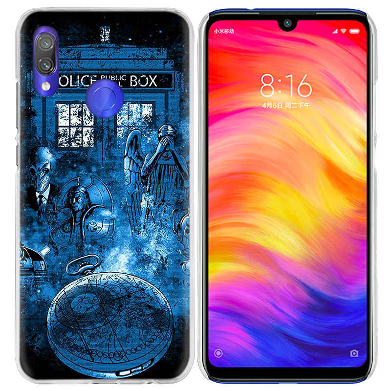 Box Doctor Who Case for Xiaomi Redmi Go Note 7 6 6A Pro S2 5 5A 4X Mi A1 A2 9 Mix 3 5G 8 lite Play F1 Hard PC Coque Phone Cover