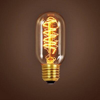 vintage lampada st64 g80 220 v 40