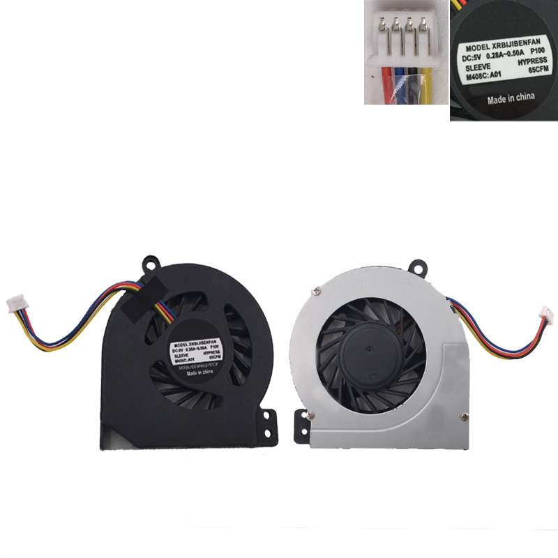 Купить с кэшбэком New Laptop Cooling Fan For DELL Vostro 1014 1015 1018 1088 P/N:0Y34KC DFS491105MH0T 010911B 3CVM8FAWI00 (DC 5V 0.5A) DFS551305M