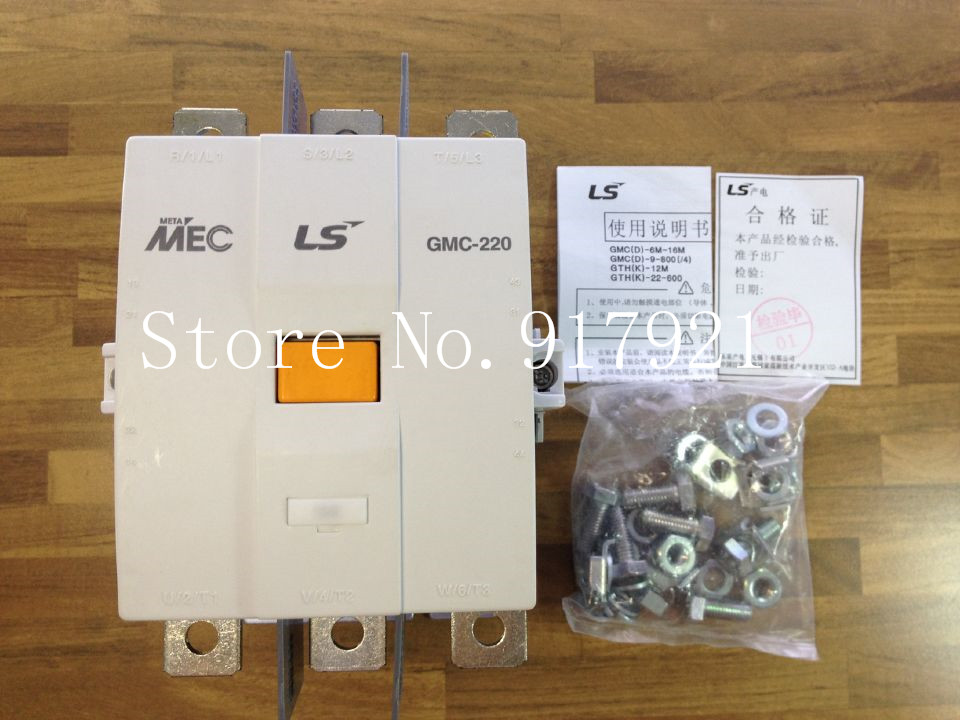 [ZOB] South Koreas original MEC GMC-220 power 100-220V AC contactor to ensure genuine fake a lose ten