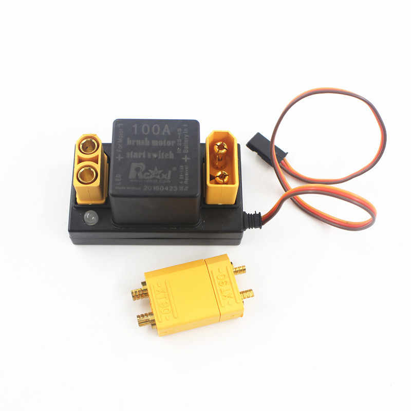 ZDF Rcexl 100A Motor Sikat Mulai Elektronik Switch Relay V1.0 untuk DLE EME 35 55