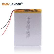 357090 3,7 в 5000 мАч полимерный литий-ионный аккумулятор сменный планшет для планшета ginzzu gt-7030 oysters t72m 3g