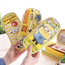 Cute Cartoon Despicable Me Minions Women Makeup Bag Cosmetic Bag Case Make Up Organizer Toiletry Bag kits Storage Pouch