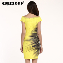 Hot Sale Women Apparel High-Quality Printing Short Sleeve Diamond Decoration Mini Fashion Summer Dress Personality Dresses 71178