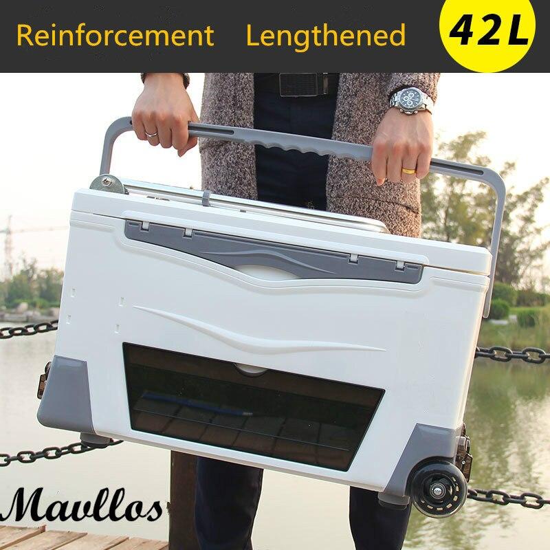Mavllos 42L fishing Tackle Multifunctional Fishing Box Lures Set Storage Case 2 Model Multifunction fishing boxes Large capacity
