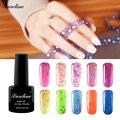 Saroline lucky bluesky Colores para Elegir LED Queso Gel Polish Glitter Gel Laca Laca de Uñas empapa de Larga Duración