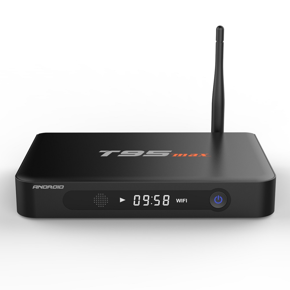 T95max Caja de Metal 2 GB/32 GB Amlogic T95 max S905 Quad Core Android 5.1 TV BO