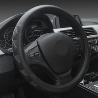 Stereo Massage Anti Skid Design Steering Wheel Cover Comfortable Breathable Fabric Steering Wheel Covers For Car