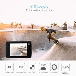 Image 2 - كاميرا تصوير الحركة من YI Discovery بدقة 4K 20fps كاميرا رياضية بدقة 8 ميجابكسل 16ميجابكسل مع شاشة لمس مدمجة بتقنية wi fi بزاوية واسعة للغاية 2.0 درجة