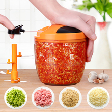 Home Portable Manual Meat Grinder No Electricity Vegetable Chopper Manual Blenders Mini Cutter Kitchen Tools