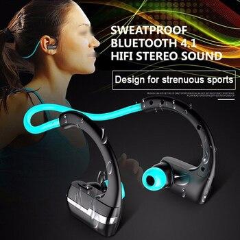 Neckband Bluetooth Earphone Wireless Waterproof Sport Headphone Hifi 12h Call Time With Microphone for xiaomi HUAWEI earphone magnetic attraction bluetooth earphone headset waterproof sports 4.2