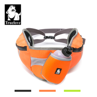Truelove Waist Dog Backpack Bag Outdoor Multifunctional For Man With Dog Water Bottle And Reflective For Hiking Running TLB2151