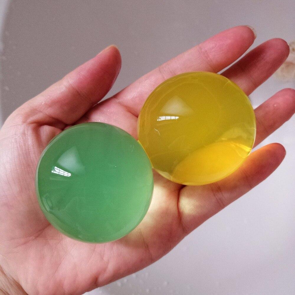 500pcs/Bag 6 8cm Big Pearl Shaped Crystal Soil Orbiz Ball