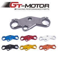 Gt motor FREE SHIPPING 7 color For Suzuki GSXR600/750 2001 2003 GSXR1000 01 05 Lowering Triple Tree Front End Upper Top Clamp