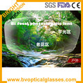 1.56 index bi-focal photochromic grey or brown myopia hyperopia lens prescription lens
