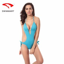 SWIMMART swimsuit push up sexy deep V gather one-piece bikini swimwear women one piece swimming suit for women swim suit girls shanqi polyester swimming suit woman smock bikini three piece small gather together steel support sexy hot spring swimwear
