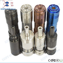 E-cigarette FOGGER mechanical pen Mod 18650/18500/18350 battery body Vape mod VS elthunder overlord vape Tower mech