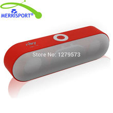MERRISPORT Wireless Surround Stereo Portable Speakers Bluetooth speakers Built-in Mic Super Bass For Tablet iphone PC Smartphone