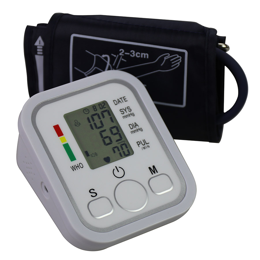 Household Blood pressure meter professional Series Upper Arm Blood Pressure Monitor with Cuff that fits Standard and Large Arms cofoe yili blood glucose meter with 50 100pcs test strips and lancets needles for diabetic medical household monitor glucometer