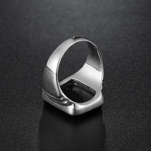 Image 4 - Qualidade superior leonardo dicaprio anel o grande gatsby preto onyx anéis para homem amor jóias atacado