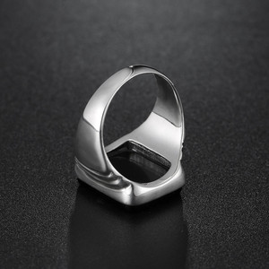 Image 4 - Top Quality Leonardo Dicaprio Ring The Great Gatsby Black Onyx Rings For Men Love Jewelry Wholesale